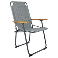 Bo-Camp Folding Camping Chair Jefferson Grey Green