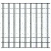 vidaXL 2D Garden Fence Panels 2.008x1.83 m  6 m (Total Length) Grey