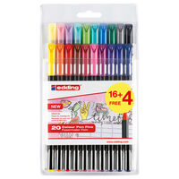 edding Classic Colour Pen Fine 20pcs Multicolour 1200