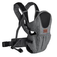 Baninni 2-in-1 Baby Carrier Sacco Prestigio Melange Grey BNBC004-GY