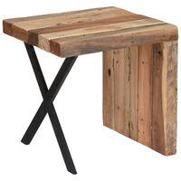 Ambiance Side Table L-Shape Teak 45x40x45 cm