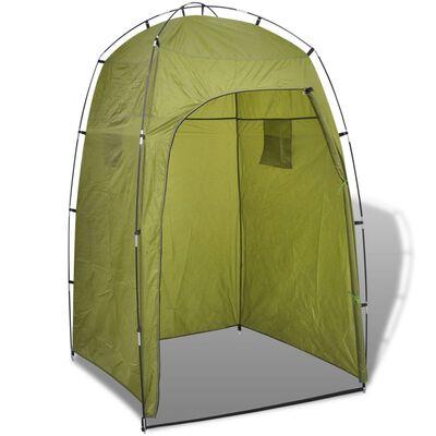 vidaXL Shower/WC/Changing Tent Green