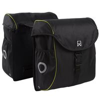 Willex Bicycle Panniers 38 L Black and Yellow 16103
