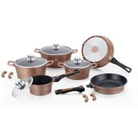 Herenthal - 10 Piece Cookware Set With Removable Handles - Copper