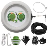vidaXL Automatic Indoor Drip Watering Kit with Controller