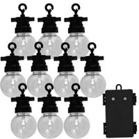 Luxform Garden Party Lights Set with 10 LEDs Fiji