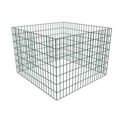vidaXL Square Mesh Garden Composter 100 x 100 x 70 cm
