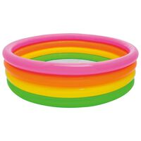 Intex Sunset Inflatable Pool 4 Rings 168x46 cm