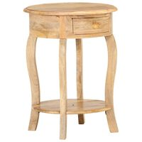 vidaXL Side Table 37x37x61 cm Solid Mango Wood