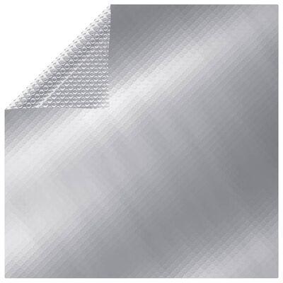 vidaXL Rectangular Pool Cover 800x500 cm PE Silver