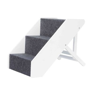 TRIXIE Pet Stairs Height Adjustable MDF