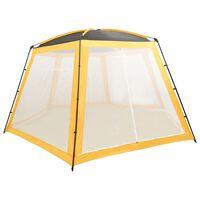 vidaXL Pool Tent Fabric 590x520x250 cm Yellow
