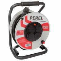 420381 Perel Professional Cable Reel with 25 m Neoprene cable White ECR25NP25N-G (will not purchase)