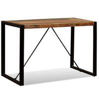 vidaXL Dining Table Solid Reclaimed Wood 120 cm