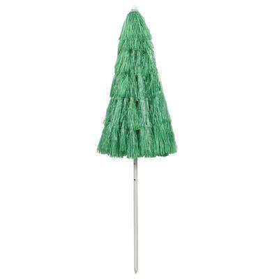 vidaXL Beach Umbrella Green 240 cm