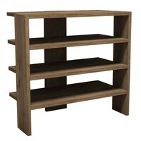 Homemania Shoe Cabinet Mix 63.6x31.8x60cm Walnut