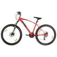vidaXL Mountain Bike 21 Speed 29 inch Wheel 58 cm Frame Red
