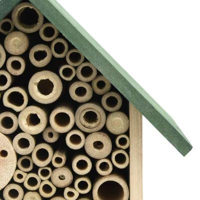 vidaXL Insect Hotels 2 pcs 23x14x29 cm Solid Firwood