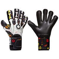 Elite Sport Goalkeeper Gloves Calaca Size 5 Black