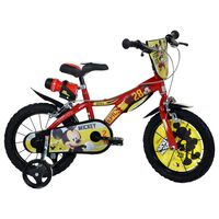 Dino Bikes Kids Bicycle Mickey Mouse Red 14