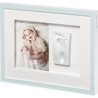 Baby Art Collage Frame Tiny Style Crystal White