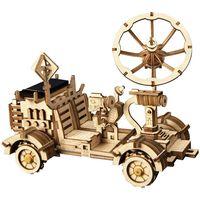 Robotime Solar Energy Car Toys Rambler Rover
