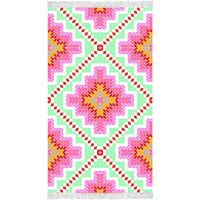 Happiness Beach Towel ZOPHIA 100x180 cm Multicolour