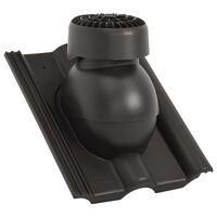vidaXL Roof Ventilator Black