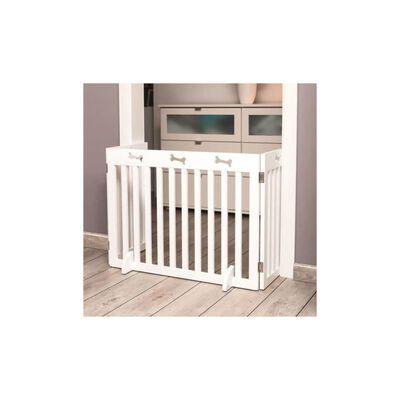TRIXIE Dog Barrier 3-part MDF 82-124 cm White