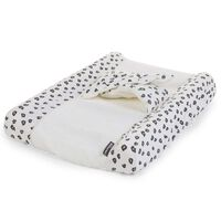 CHILDHOME Changing Cushion Cover Angel Jersey Leopard