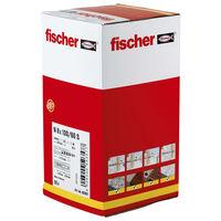 Fischer Plug with Countersunk Head Set Hammerfix N 8 x 100/60 S 50 Piece