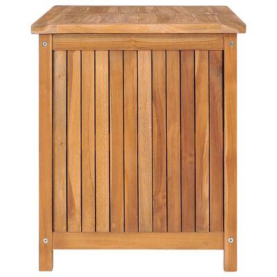 vidaXL Garden Storage Box 90x50x58 cm Solid Teak Wood