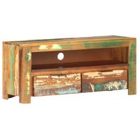 vidaXL TV Cabinet 90x30x40 cm Solid Reclaimed Wood