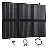 vidaXL Foldable Solar Panel Charger 120 W 12 V