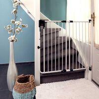 A3 Baby & Kids Safety Gate SafeDoor White 75.5-116 cm