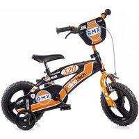 Dino Bikes Kids' Bicycle BMX Orange 12
