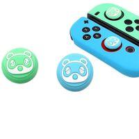 Silicone Case Set for Nintendo Switch Joy-Con - Blue / Green