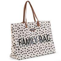 CHILDHOME Family Bag Canvas Leopard