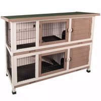 FLAMINGO Rabbit Hutch Combi 122x50x102 cm 210052