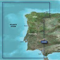 GARMIN BLUECHART G3 HXEU009R  PORTUGAL & NORTHWEST SPAIN