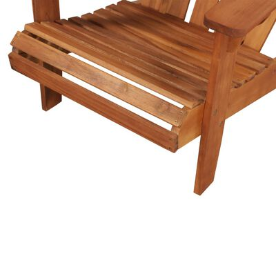 vidaXL Garden Adirondack Chair Solid Acacia Wood