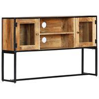 vidaXL TV Cabinet 120x30x75 cm Solid Reclaimed Wood