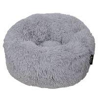 DISTRICT70 Pet Bed FUZZ Light Grey M