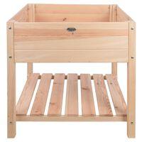 Esschert Design Raised Bed Blank Light Wood  XL