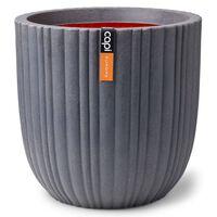 Capi Planter Urban Tube 43x41 cm Dark Grey