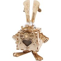 Robotime DIY Music Box Model Kit Steampunk Bunny