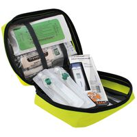 Travelsafe 31 Piece First Aid Kit Globe Sterile Plus Yellow
