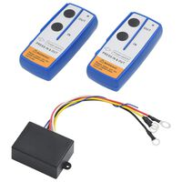 vidaXL Wireless Remote Controls for Winch 2 pcs with Receiver