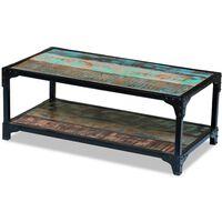 vidaXL Coffee Table Solid Reclaimed Wood