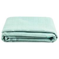 vidaXL Tent Carpet 250x250 cm Green